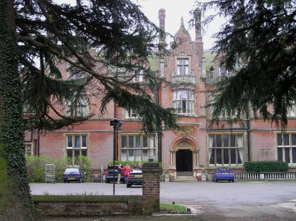 Dit is Stansted Hall.